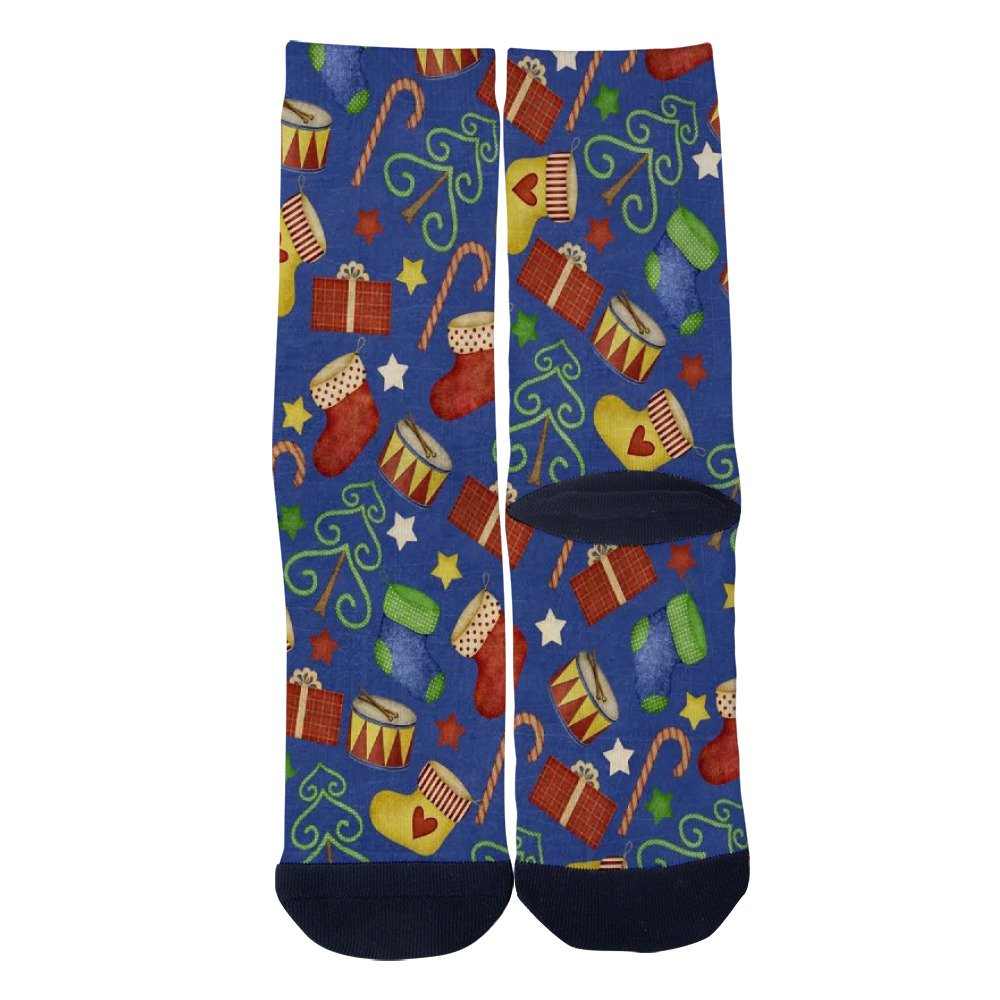 Lejoa Christmas Retro Custom Funny Crew Socks for Mens Womens