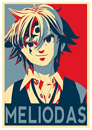 Instabuy Poster Seven Deadly Sins Propaganda Meliodas Variant - A3 (42x30 cm)