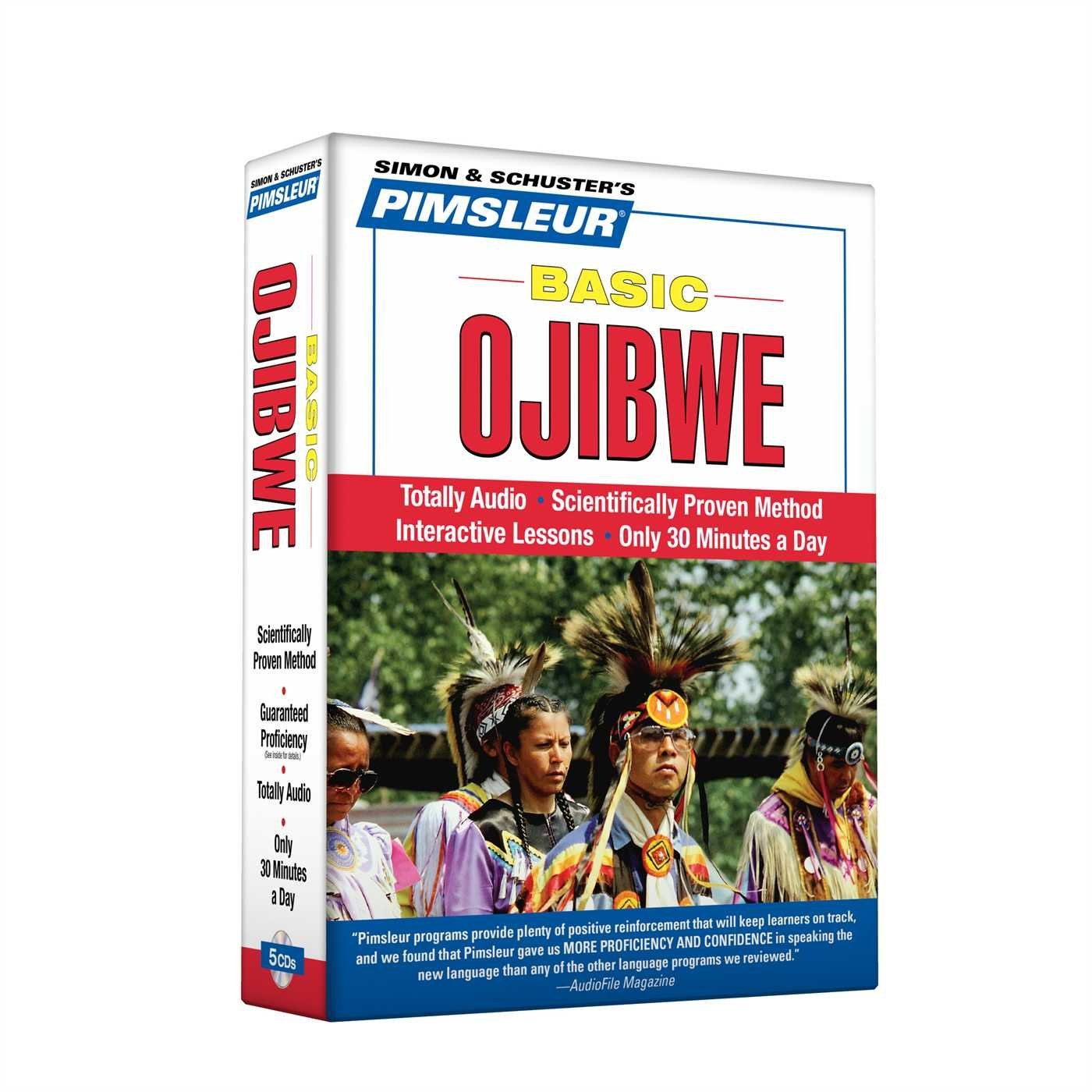 Pimsleur Ojibwe Basic Course - Level 1 Lessons 1-10 CD: Learn to Speak and Understand Ojibwe with Pimsleur Language Programs by Pimsleur