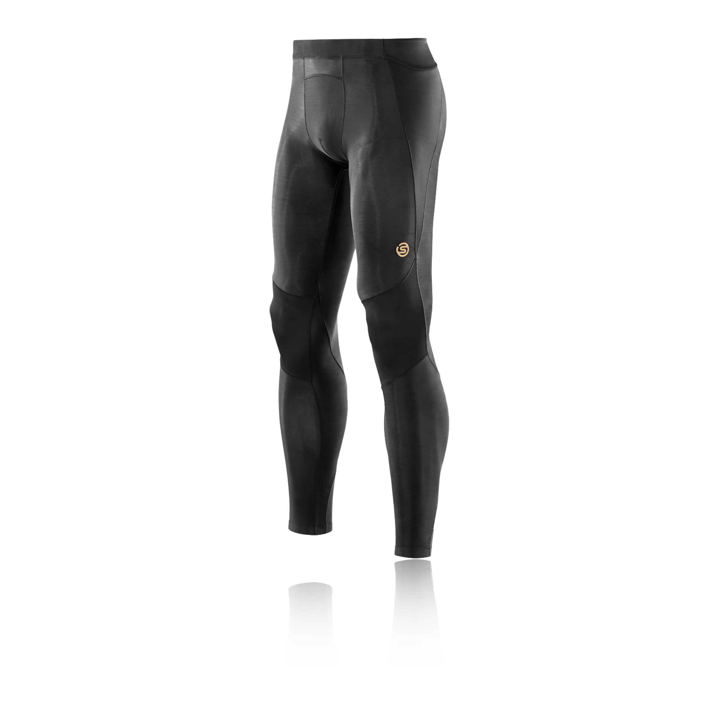 Skins Men's A400 Compression Long Tights, Black, Small