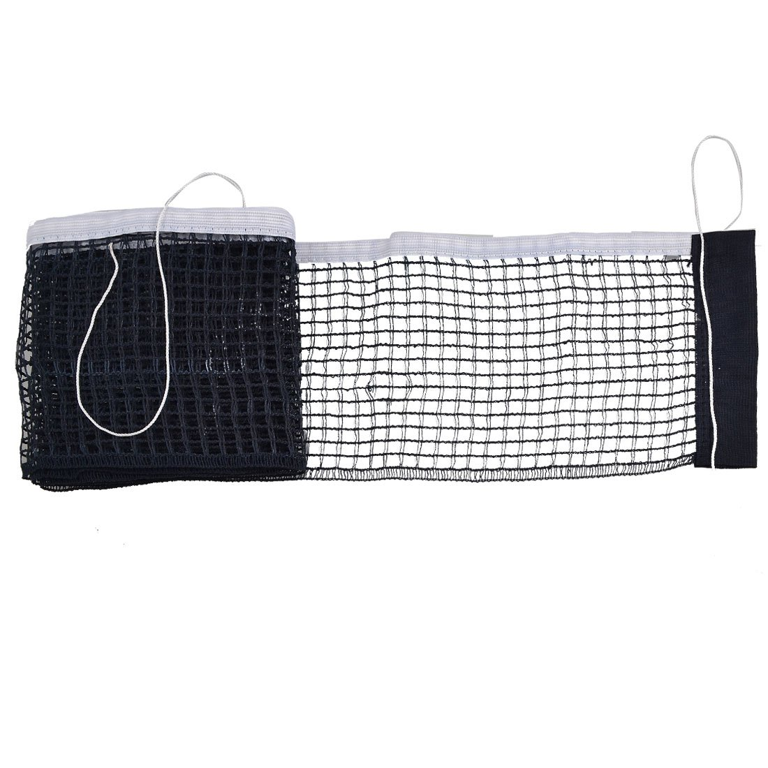 Replaceable Black White Nylon Polyester Sports Table Tennis Net Dimart a12071900ux0419