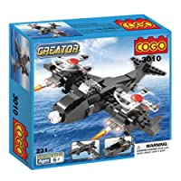 Cogo 3010°C 231PCS Erkek Blocks Creator hava-ve 3in 1Skybolt deformasyon Propeller uçak Jet Fighter Armee tekneler için karışık parçalarını kullanıyoruz eğitim-oyuncak hediyeler çocuk şantiye set