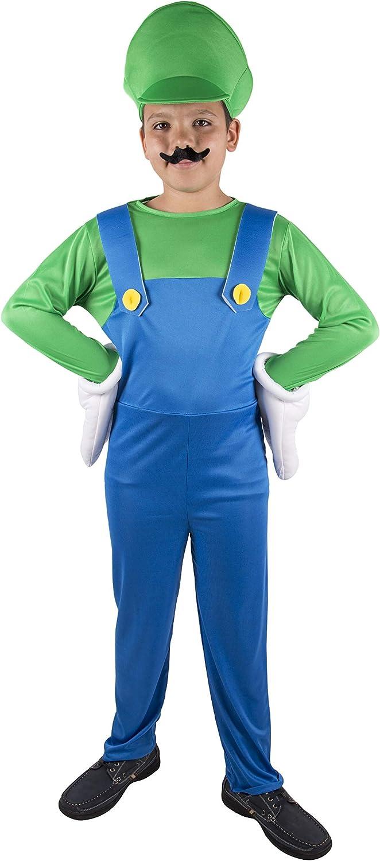 Costumizate! Disfraz de Fontanero Verde Talla 3-4 Especial para ...