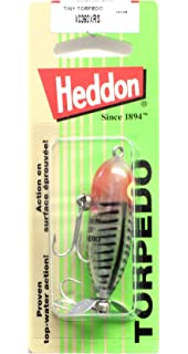 "Heddon Tiny Torpedo 1 7//8/"" 1//4oz Red Shore Minnow X0360XRW"