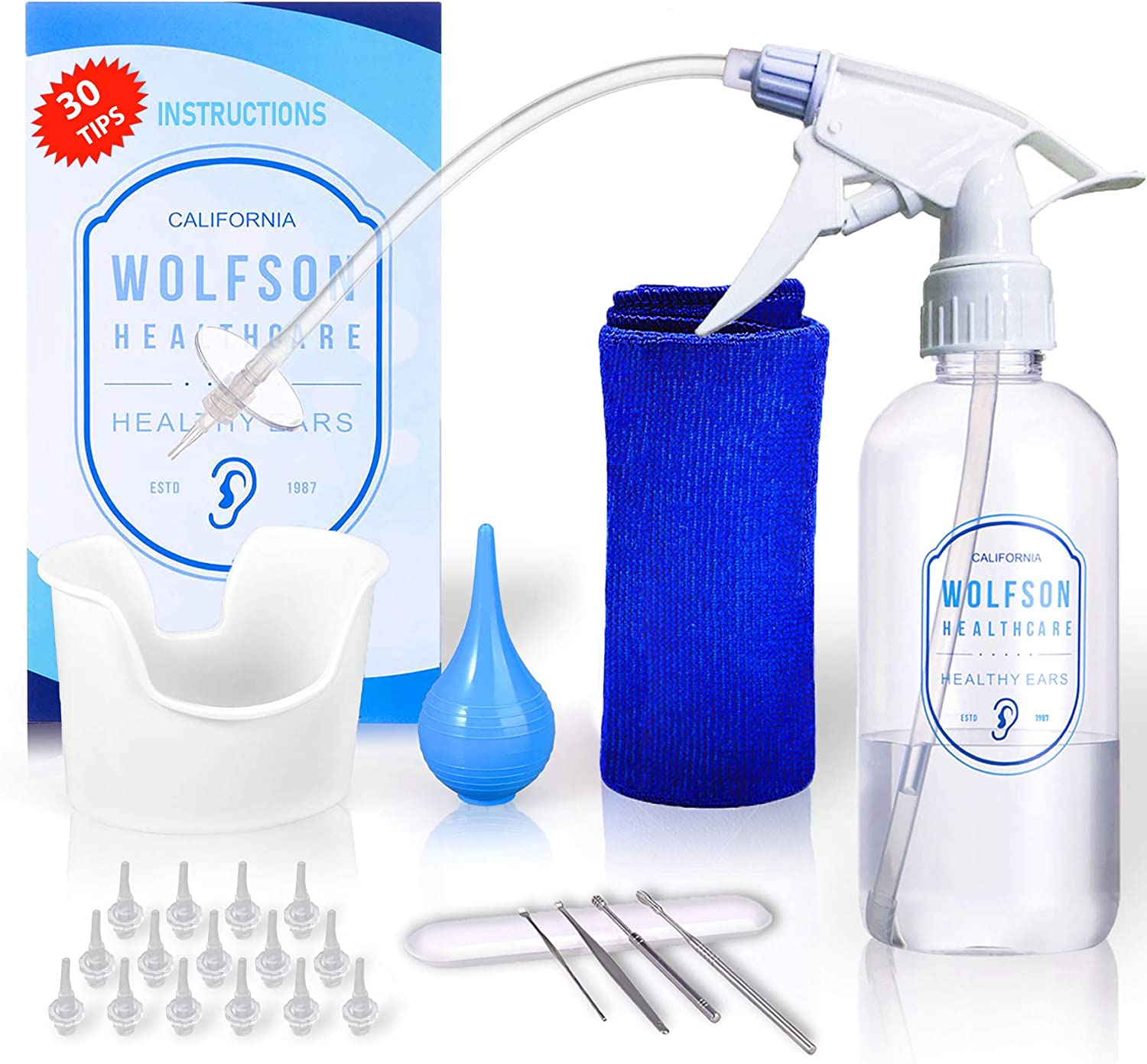 HCI7290 - OtoClear Spray Wash Kit: Health & Personal Care