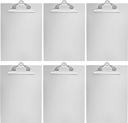 pinza standard Formato A4 confezione da 6 pz Basics Tavoletta in alluminio