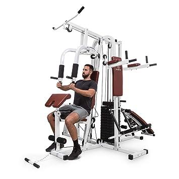 Klarfit Ultimate Gym 9000 • Multiestación de musculación • Entrenamiento Profesional • Múltiples Ejercicios para Hombros, Pecho, Brazos, piernas y ...