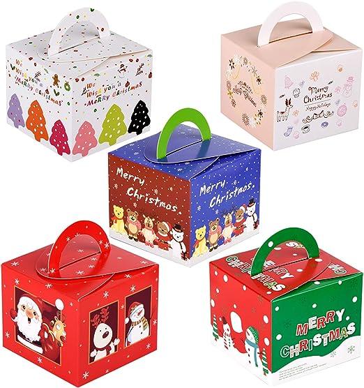 20pcs Geschenk Box Schachtel Geschenkbox Geschenkschachtel Weihnachtsbaum