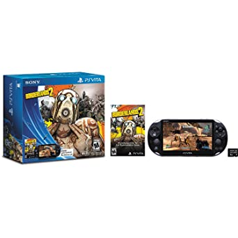 Borderlands 2 Limited Edition Playstation Vita Bundle Video Games
