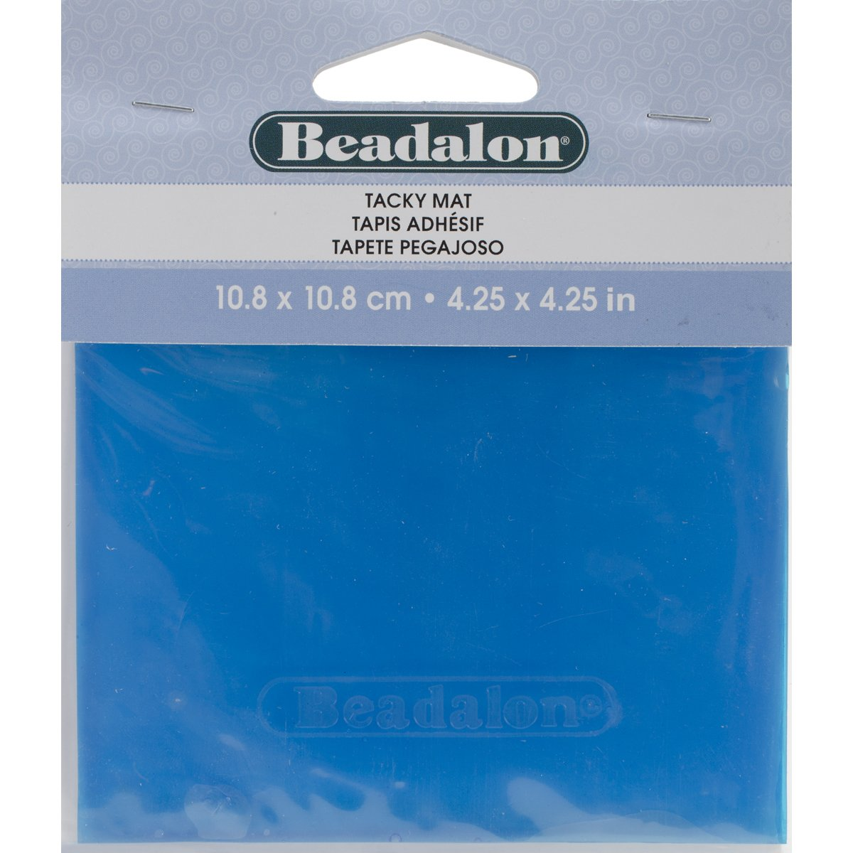 Tacky Bead Mat-4.25X4.25 BEADALON 218H200