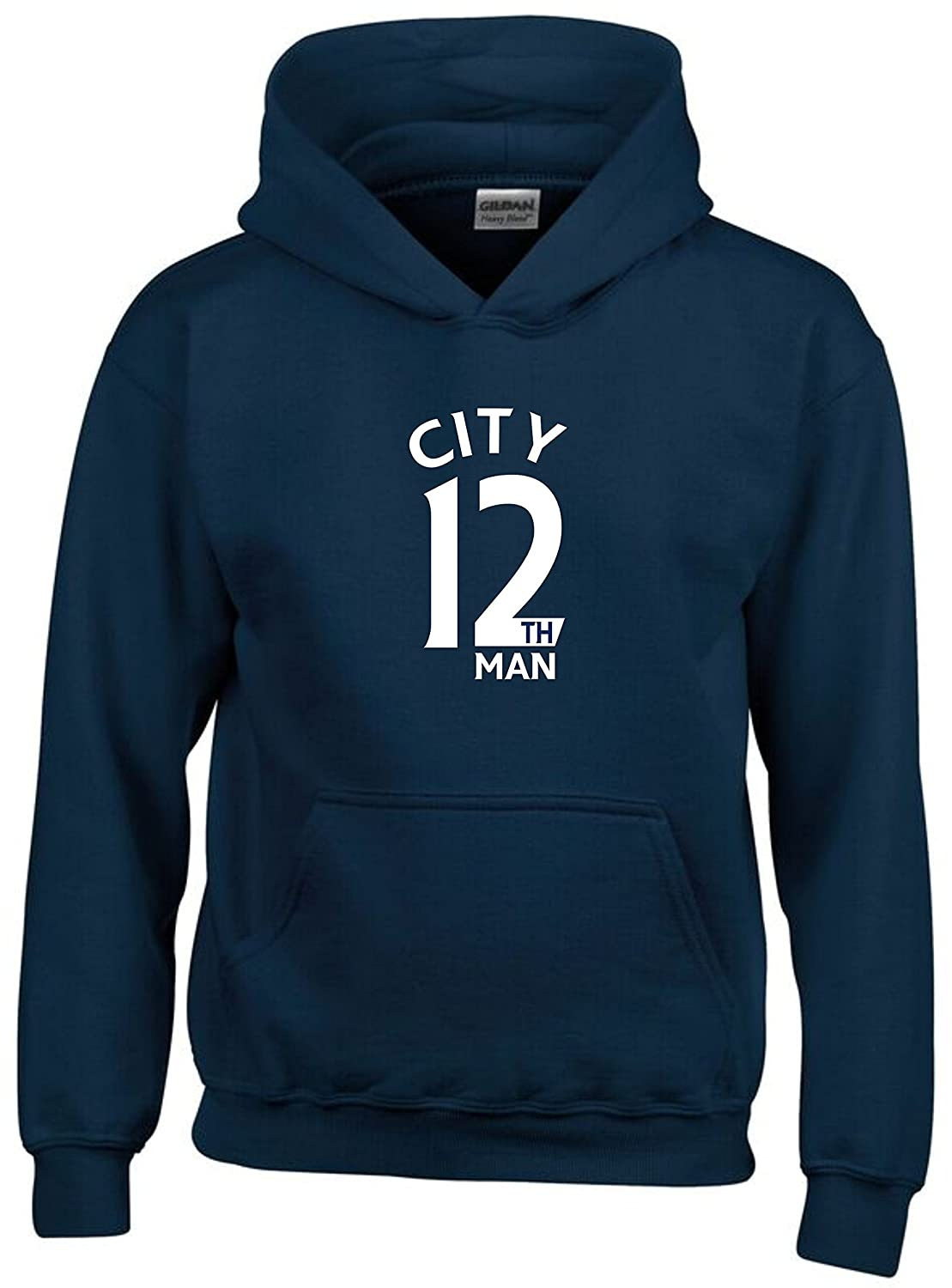 City 12th Man Fan Hoodie Kids Navy