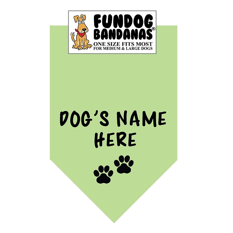Personalized Dog Bandana