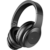 Tribit QuietPlus Over-Ear Bluetooth 5.0 Active Noise Cancelling Headphones with MIC 30 Hrs Playtime (Black)
