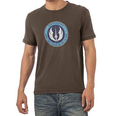 Texlab The Academy - Herren T-Shirt, Größe S, Braun