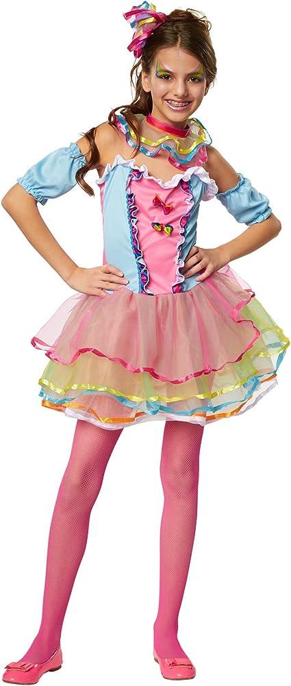 dressforfun 900337 - Disfraz para Chica Arcoíris de neón, Tul ...