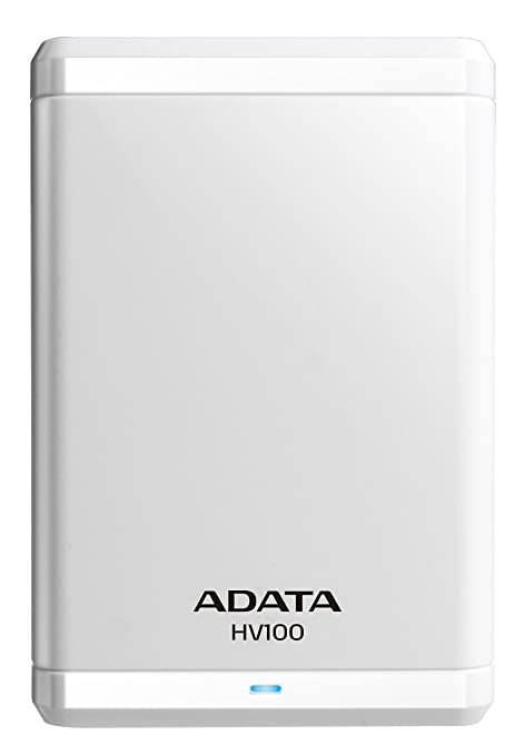 a6a35d945 ADATA HV100 2TB External Hard Drive (White) - Buy ADATA HV100 2TB External  Hard Drive (White) Online at Low Price in India - Amazon.in