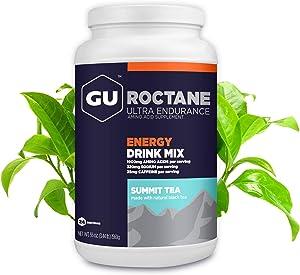 GU Energy Roctane Ultra Endurance Energy Drink Mix, 3.44-Pound Jar, Summit Tea