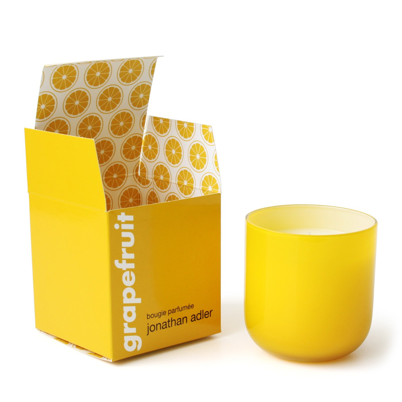 Jonathan Adler Pop Grapefruit Scented Candle, Yellow
