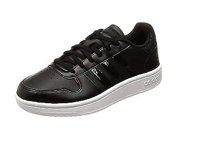 adidas Hoops 2.0 W, Chaussures de Fitness Femme, Noir (Negbas/Negbas/Carbon 000), 36 2/3 EU
