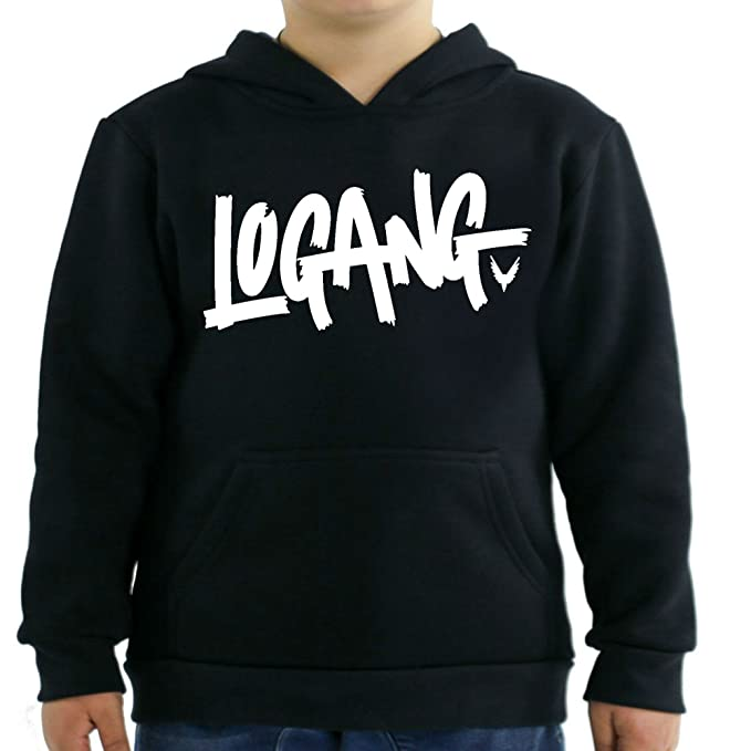 643a7ec30 Logang Logan Paul Maverick Kids Hoodies (Small / 2-4 Yrs, Black)