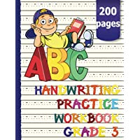 Handwriting practice workbook with lined pages for ABC learning without tears: 200 blank writing pages with specially…