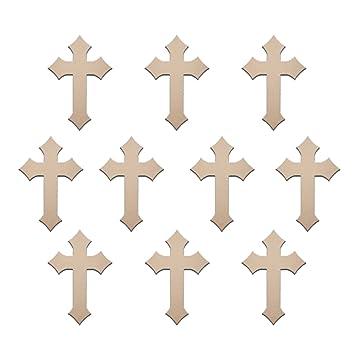 Bulk Wooden Craft Crosses Crafting