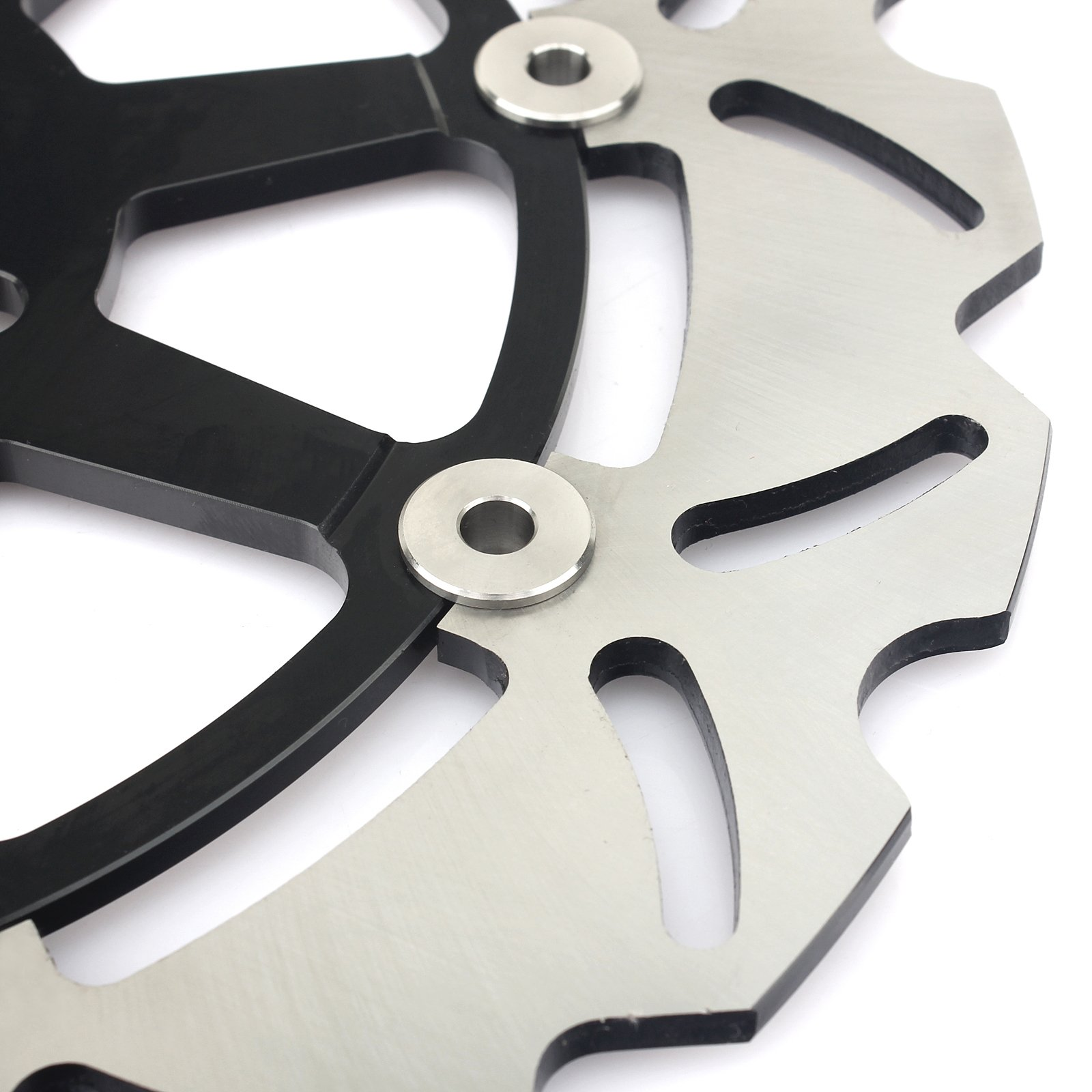 GSXR Front Brake Discs Rotors for Suzuki GSXR600 GSXR750 1997-2003 GSXR1000 2001 2002 Hayabusa GSX1300R 1999-2007 TL1000R TL1000S 98-01 by TARAZON (Image #4)