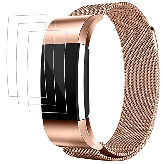 15 opinioni per Cinturino per Fitbit Charge 2 con Pellicola Protettiva, AFUNTA Band Braccialetto