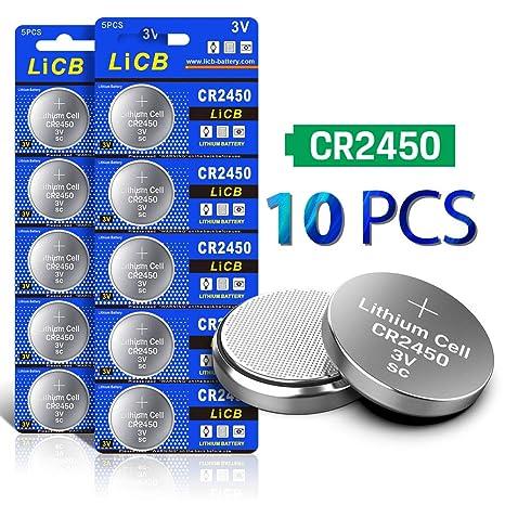 3 Pack CR2450N 3V Batteries