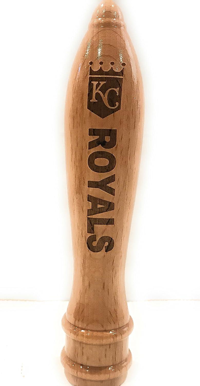Kansas City Royals Engraved Pub Style Beer Tap Handle Natural