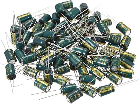 10~100PCS 16V High Frequency LOW ESR Radial Electrolytic Capacitor 1000uF 105C