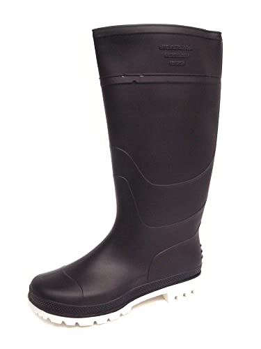 Ladies Navy Long Leg Wellington Boots/Wellies - Navy - UK 3-9
