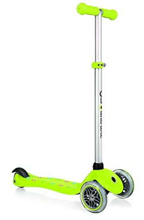 Globber- Patinete Primo Starlight, Color Lime Green (425-106 ...