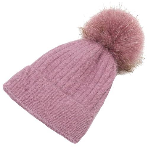 Sombrero De Lana Sombrero De Invierno Señora De Moda Moda Sombrero De Punto Caliente Elástica Cúpula