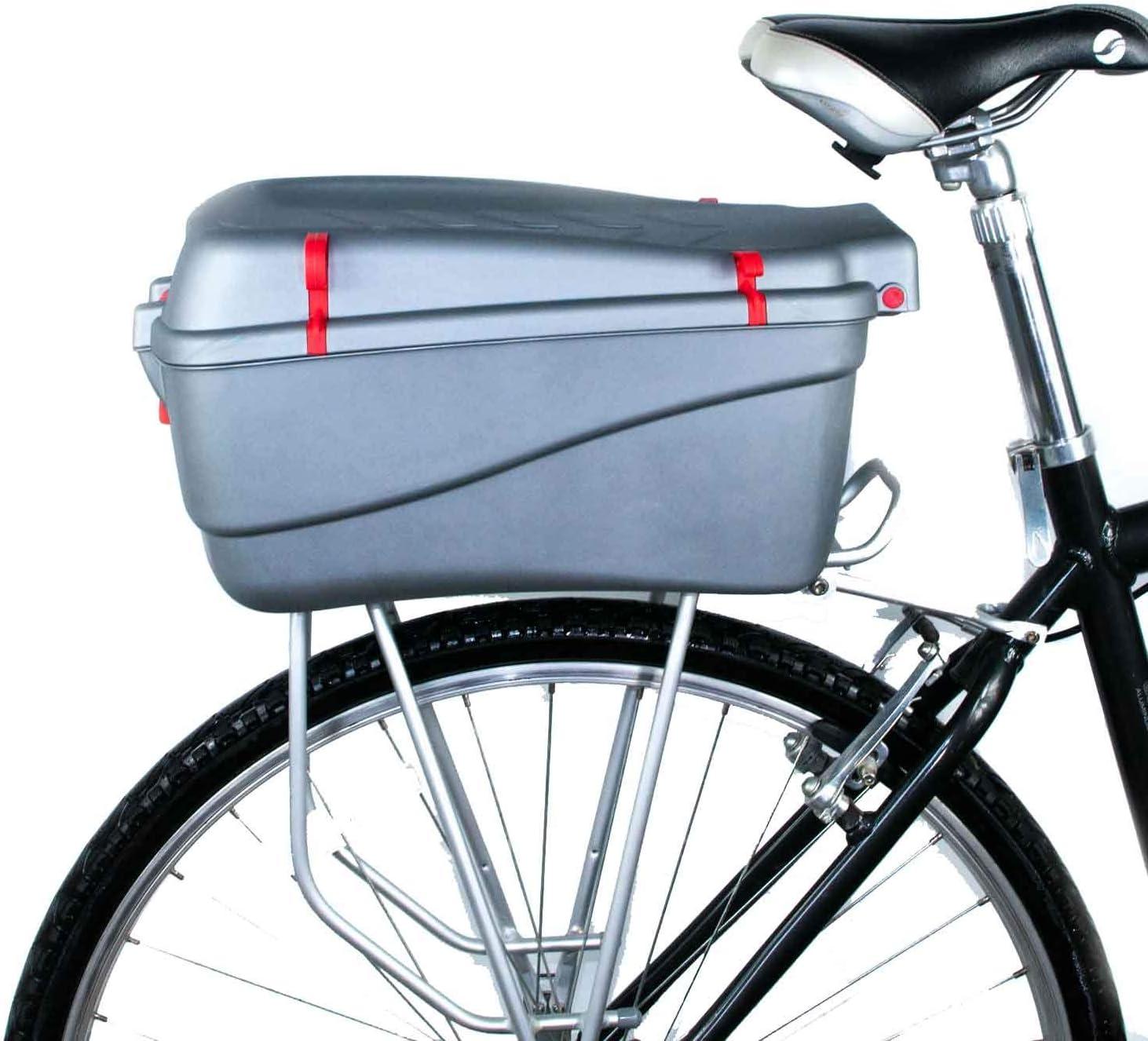 EMK Top Case Caja para Bicicleta – Grande: Amazon.es: Deportes y ...