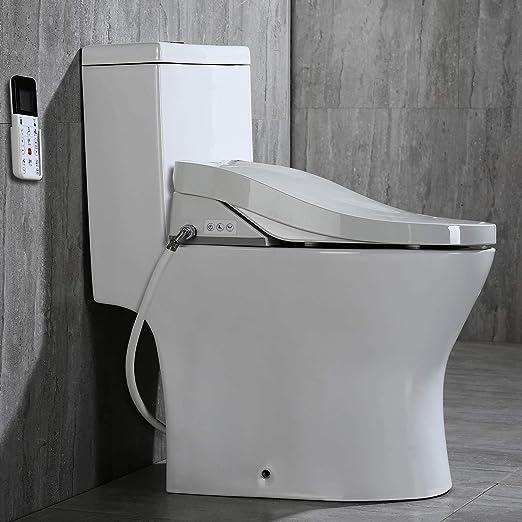 Woodbridge Luxury Elongated One Piece Toilet With Advanced Bidet
