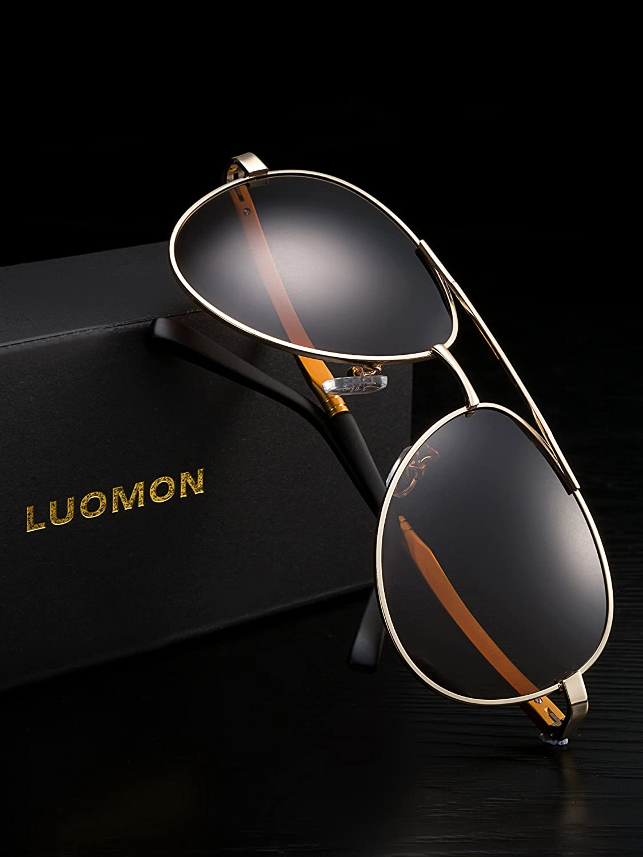 79326a6d01 Mua sản phẩm LUOMON Men s Polarized Aviator Sunglasses LM033 từ Mỹ ...