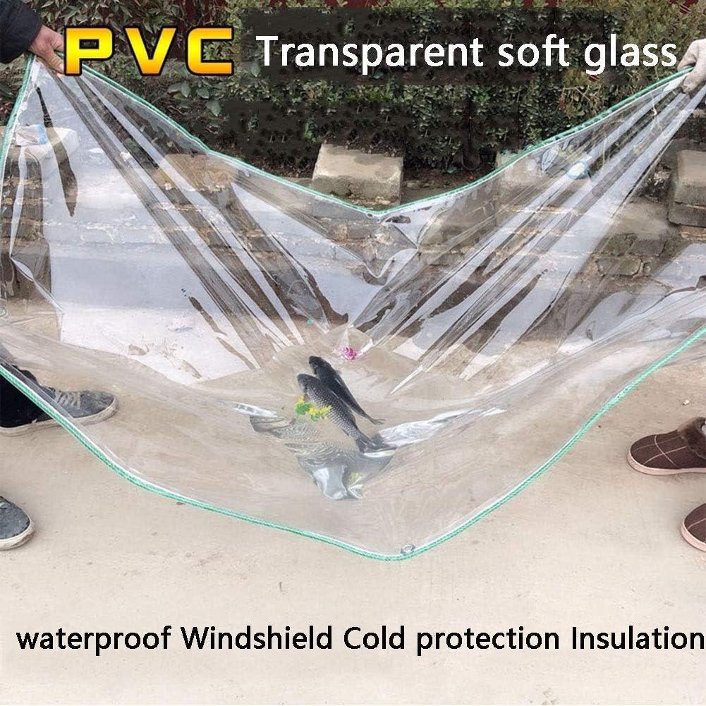 Hochleistungswasserdicht regen Schlupf Camping Shelter mit Kunststoffgewebe Outdo Abdeckplane Transparente Plane Size : 0.5x2m