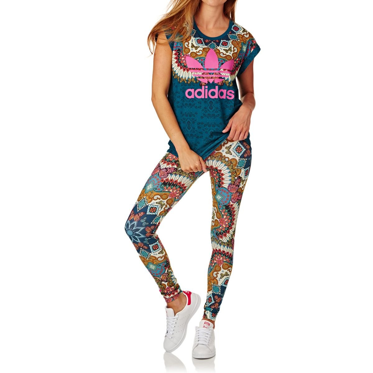 497681ede9c adidas Women's Borbomix Tights, Multicoloured/Multco, Size 28:  Amazon.co.uk: Sports & Outdoors