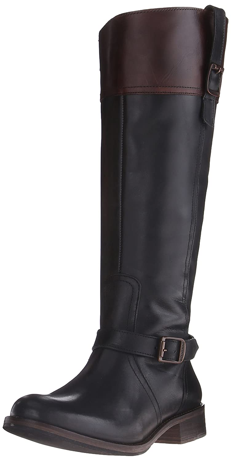 Wolverine 1883 by Women's Shannon Riding Boot B00R59YMUS 5 B(M) US|Black