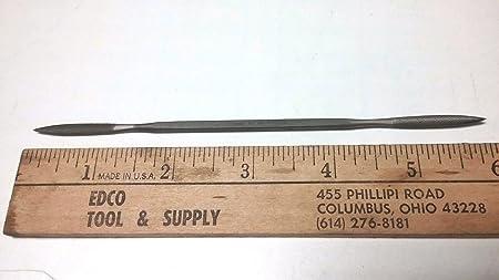 """Made in Switzerland 6/"""" Long 4 NEW Grobet #4 Cut Die Sinker Riffler File"""