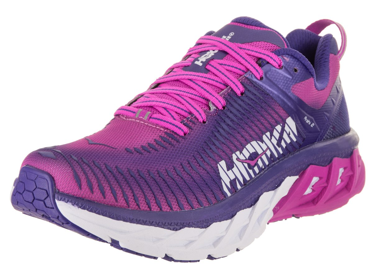 Hoka One One Arahi 2 Running schuhe damen Liberty 5 Fuchsia Schuhgröße US 6 5 Liberty   EU 38 2018 Laufsport Schuhe 1ec679