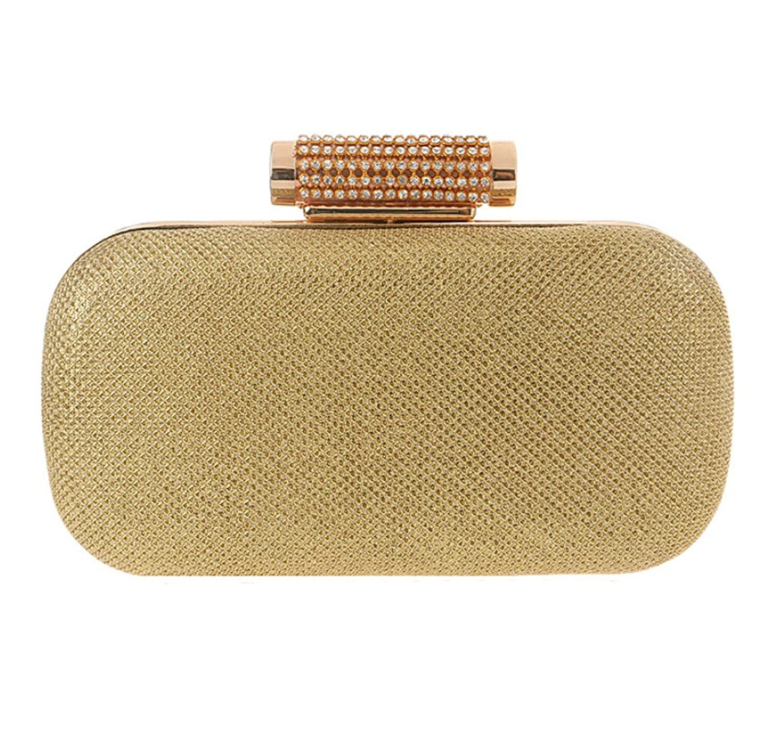 Abless Womens Glamour Elegant Evening Clutch Fashion Purse Chain Handbag -SK1085