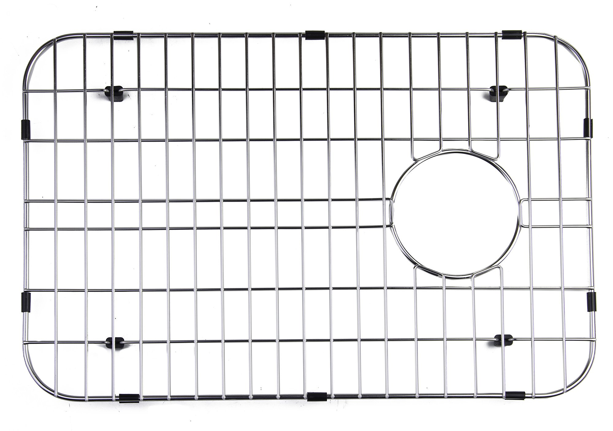 ALFI brand GR4019 Large Solid Kitchen Sink Grid, Stainless Steel