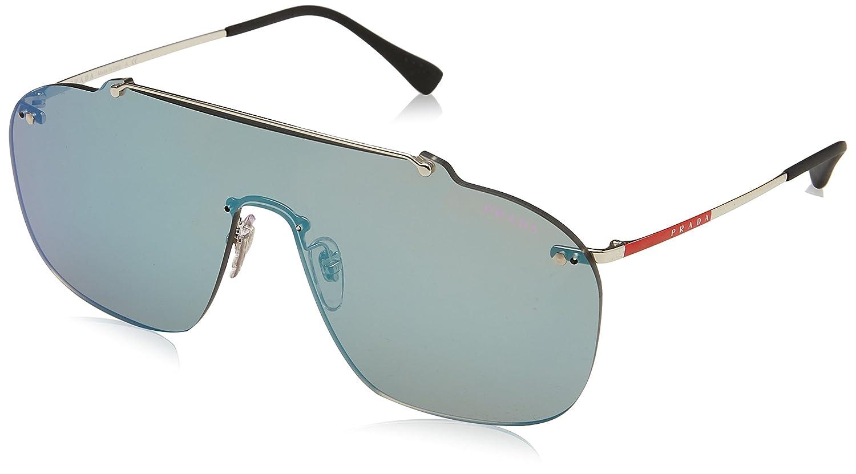 fd1bcc30e67 Amazon.com  Prada Linea Rossa Men s PS 51TS Sunglasses 37mm  Clothing
