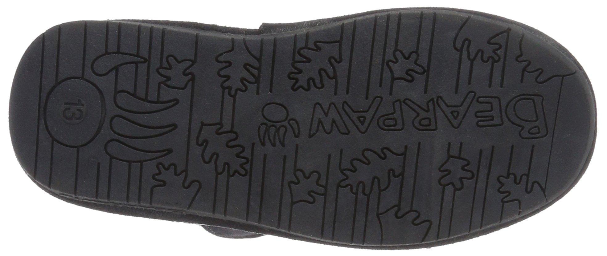 Bearpaw Abigail Charcoal Unisex Kids Shearling Boot Size 1M by BEARPAW (Image #3)