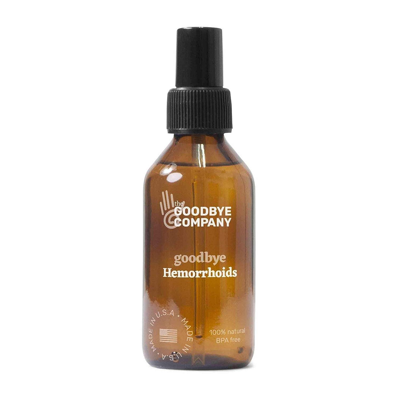 GoodBye Hemorrhoids Natural Vegan Hemorrhoid Healing Serum