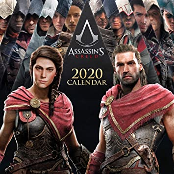 Erik Assassins Creed 2020 Wall Calendar Free Poster Included