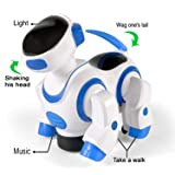 Liberty Imports Smart Robot Dog Toy - Bump and Go