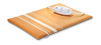Beurer HK35 - Almohadilla electrónica, 30 x 40 cm, funda lavable, color naranja